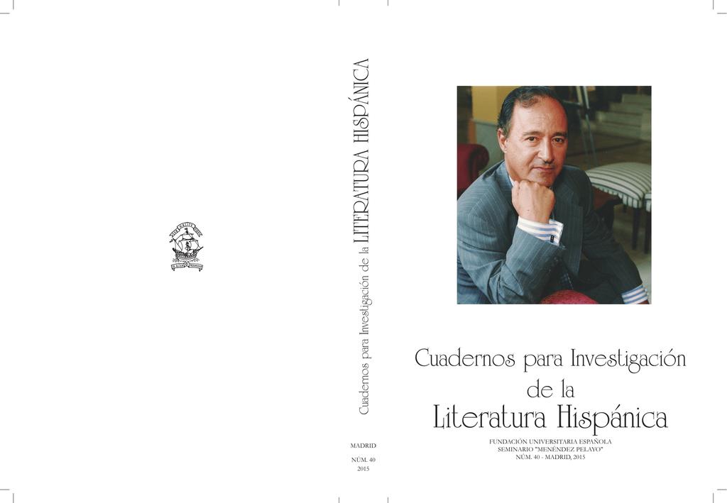 Universitaria Hispánica Hispánica Literatura Fundación Literatura Española Fundación b76ygYf
