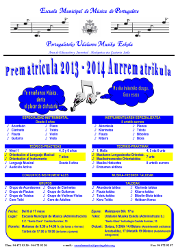 CARTEL MATRICULA color 2013-2014