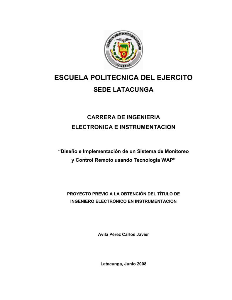 Tesis de Ingeniería Electrónica - Repositorio de la Universidad de