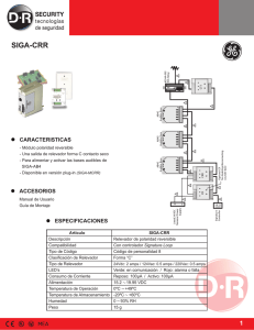 SIGA-CRR - DR Security