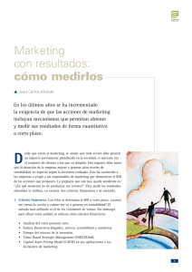 Marketing con resultados: cómo medirlos