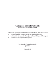 Guía para entender el ADR - Editorial Club Universitario