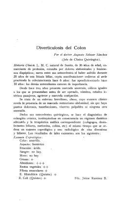 Dívertícufosís del Colon