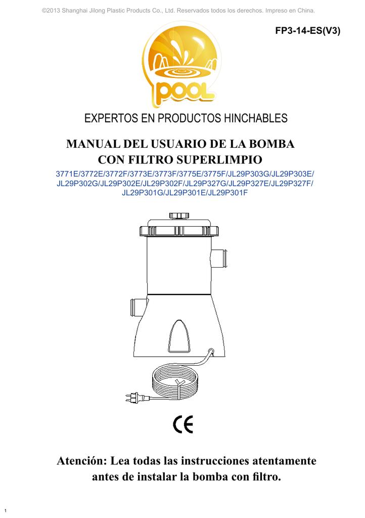 EXPERTOS EN PRODUCTOS HINCHABLES MANUAL DEL