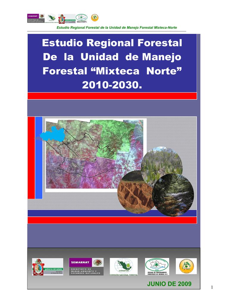 Estudio Regional Forestal De la Unidad de Manejo Forestal 8aa361bc025