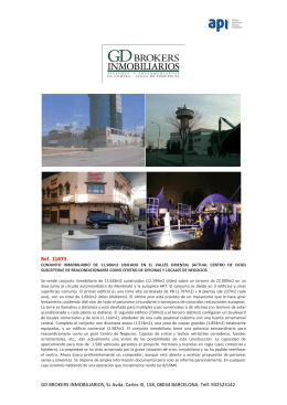 Ref. 11673 - gd brokers inmobiliarios