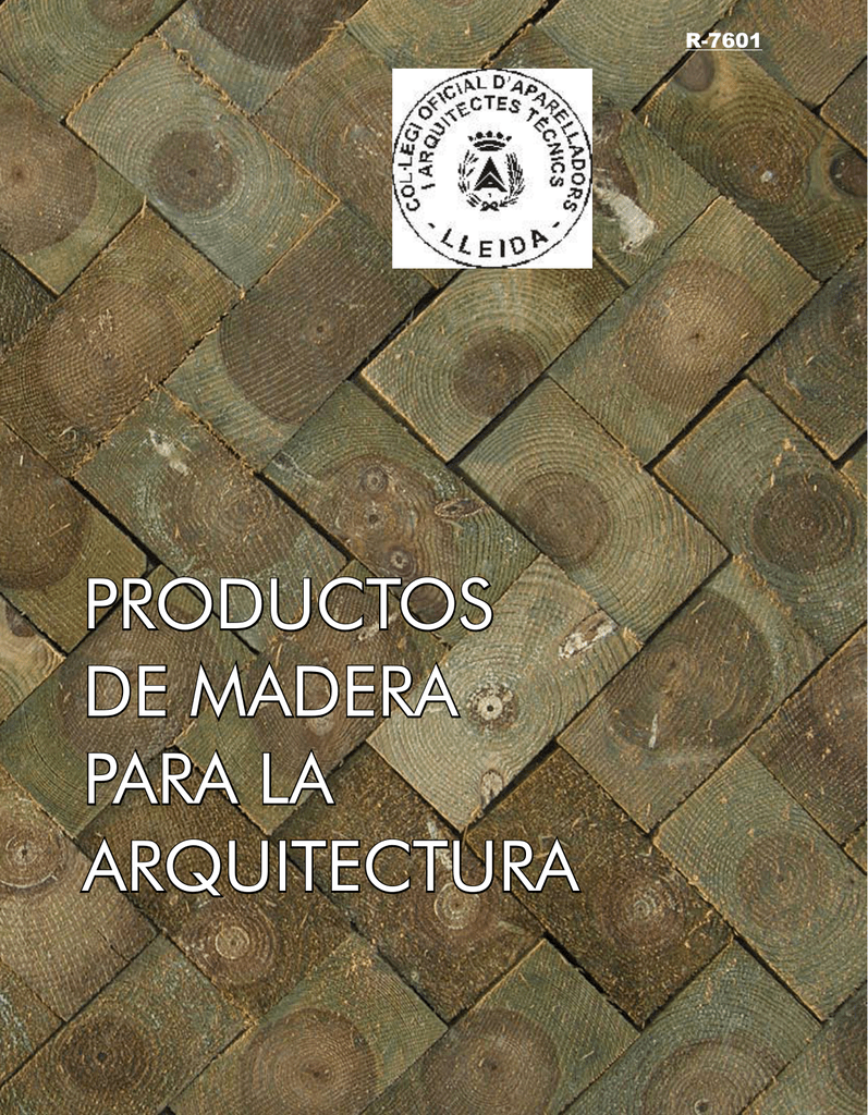 Productos De Madera Para La Arquitectura