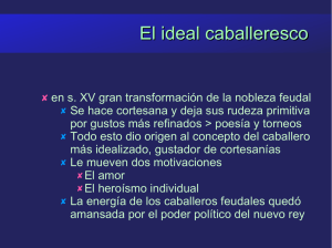 El ideal caballeresco