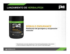 Rebuild Endurance - Herbalife Events