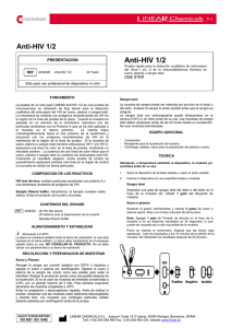 Anti-HIV 1/2 - LINEAR CHEMICALS