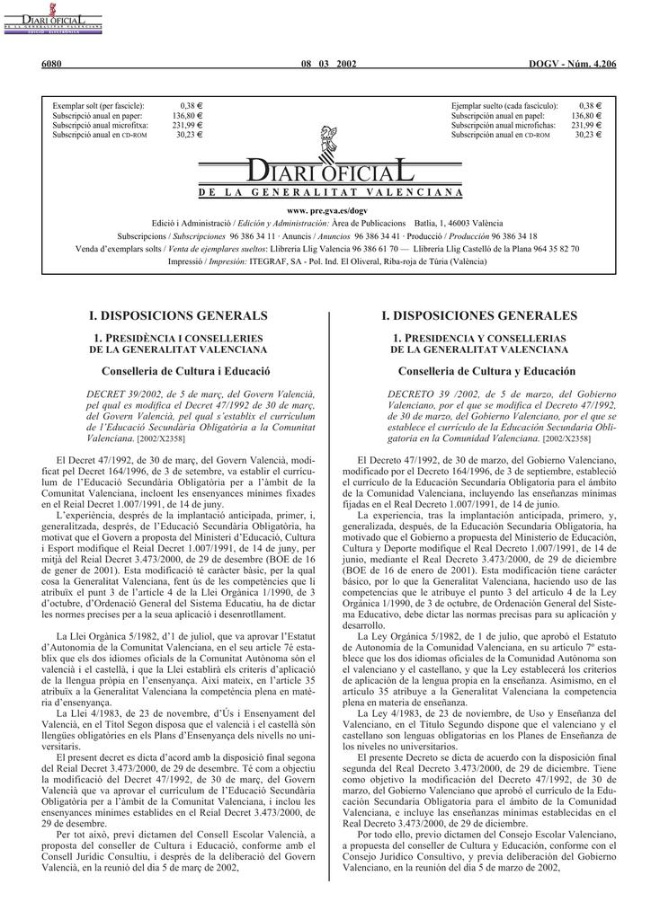 Diari Oficial Quaderns Digitals