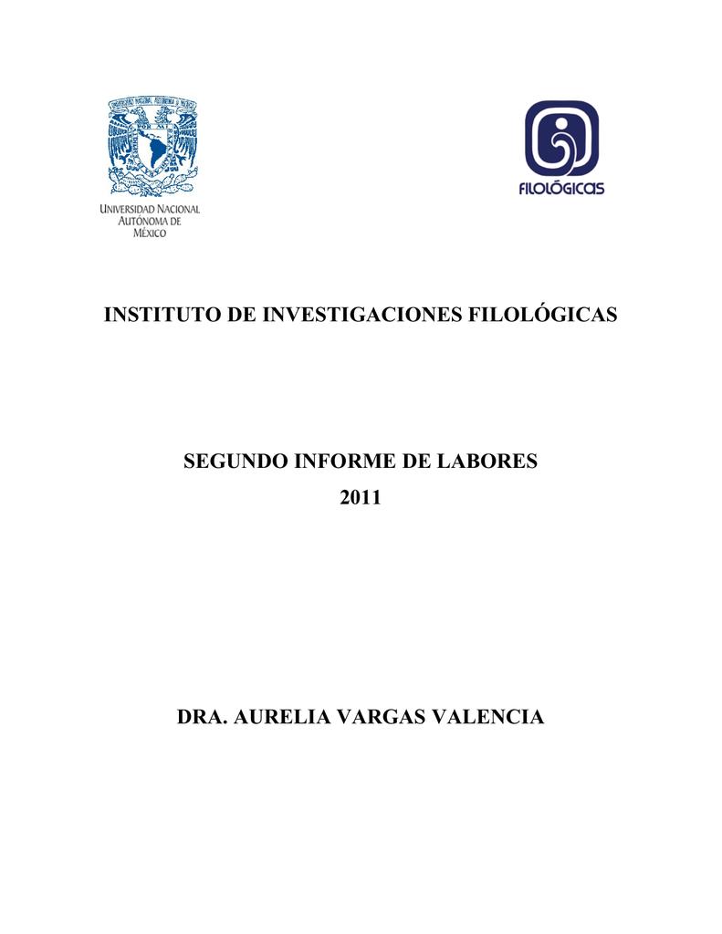 instituto de investigaciones filológicas segundo - Inicio