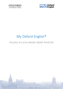 My Oxford English®