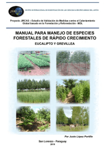 Manual para Manejo de Especies Forestales de Rapido