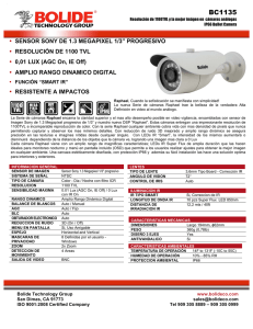 BC1135 - Bolide® Technology Group