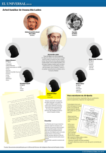 Árbol familiar de Osama Bin Laden
