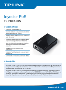 Inyector PoE - Solution Box