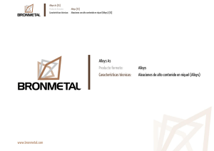 Alloys - Bronmetal
