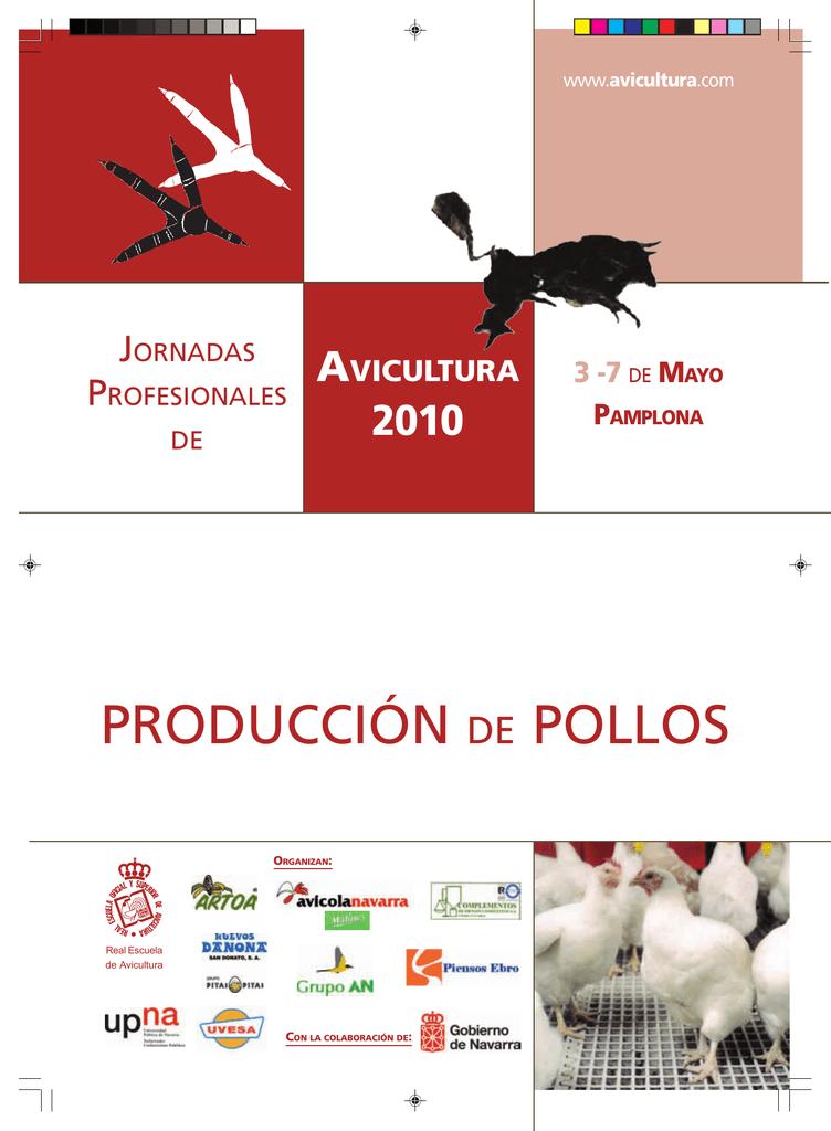 producción de pollos - Jornadas Profesionales de Avicultura