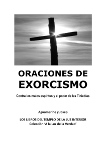 oraciones de exorcismo
