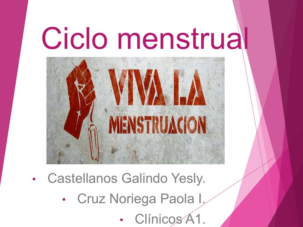 Qué es el ciclo menstrual