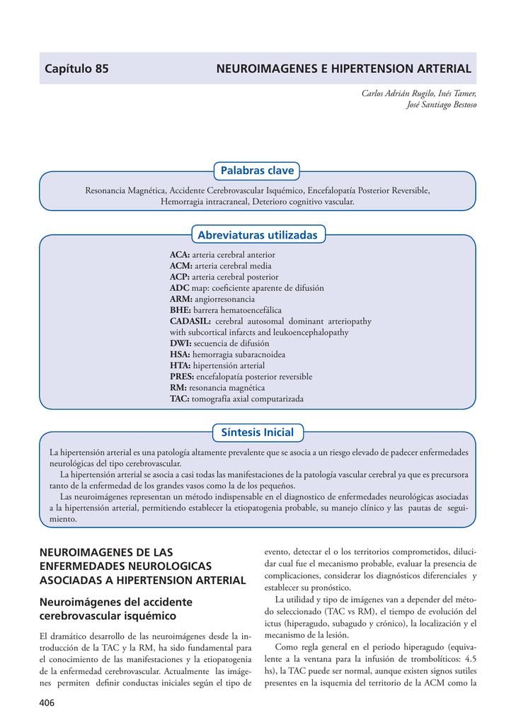 Tratamiento de lipohialinosis hipertensión