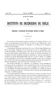 instituto de injenieros de chile - Anales del Instituto de Ingenieros de