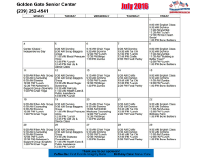 Golden Gate Senior Center (239) 252-4541