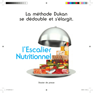 l`Escalier Nutritionnel - Nutri-Site