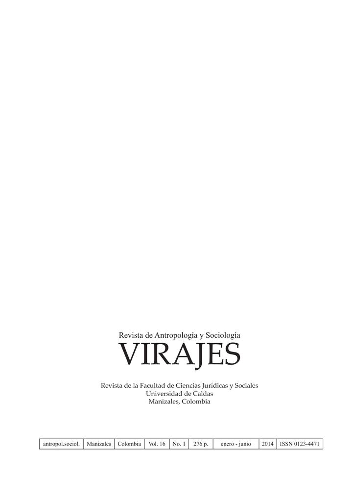 Revista de Antropología y Sociología Virajes