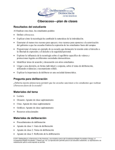 Ciberacoso—plan de clases - Constitutional Rights Foundation