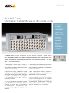 Rack aXIs Q7900 - Axis Communications