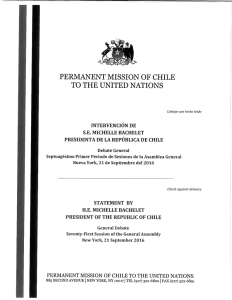 permanent mission of chile to the united nations