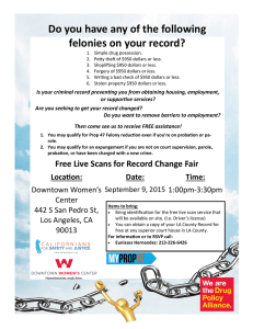 Free Live Scans for Record Change Fair Do you have any of the