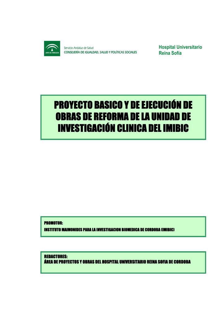 1e8e46fda2 PROYECTO BASICO Y DE EJECUCIÓN DE OBRAS DE REFORMA