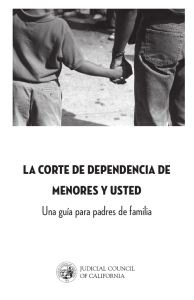 Una guía para padres - California Dependency Online Guide