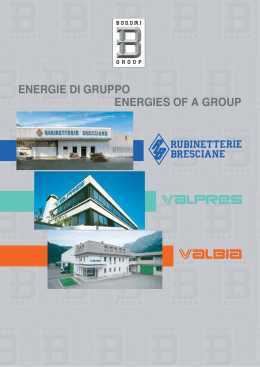 energie di gruppo energies of a group