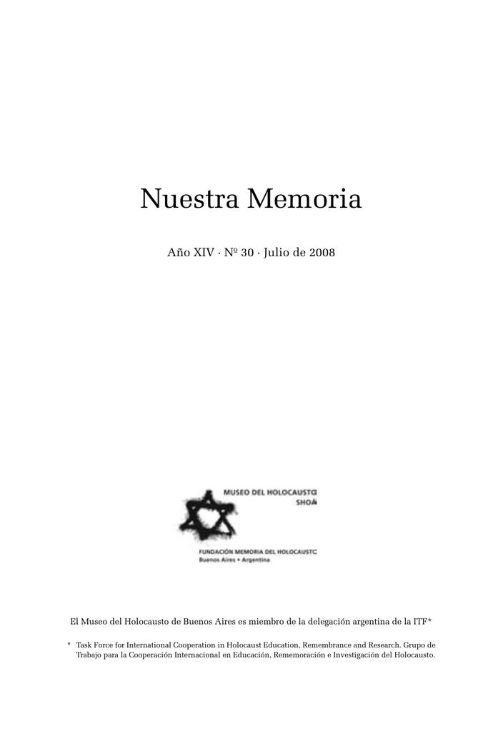 PDF - Museo del Holocausto de Buenos Aires