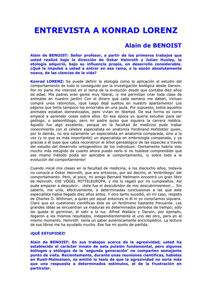 Fundamentos De La Etologia Konrad Lorenz Pdf