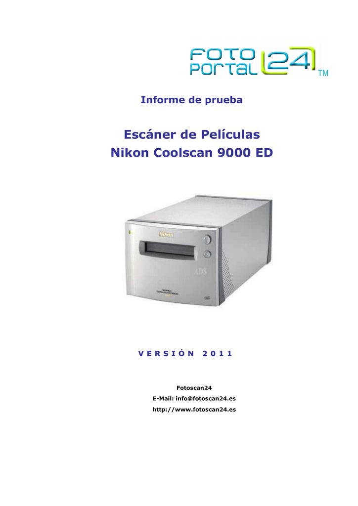 Escáner de Películas Nikon Coolscan 9000 ED