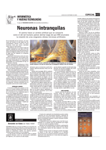 Neuronas intranquilas