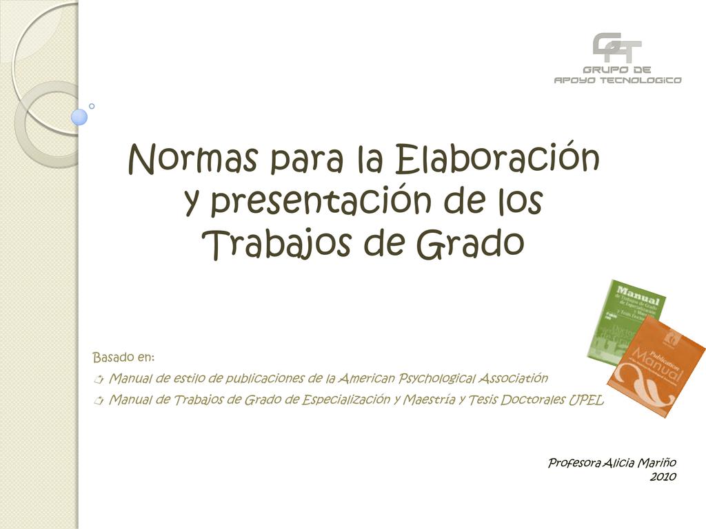 diapositiva 1 asesores rh studylib es Inscripcion Upel Estudiante Principal manual tesis upel 2010 en word