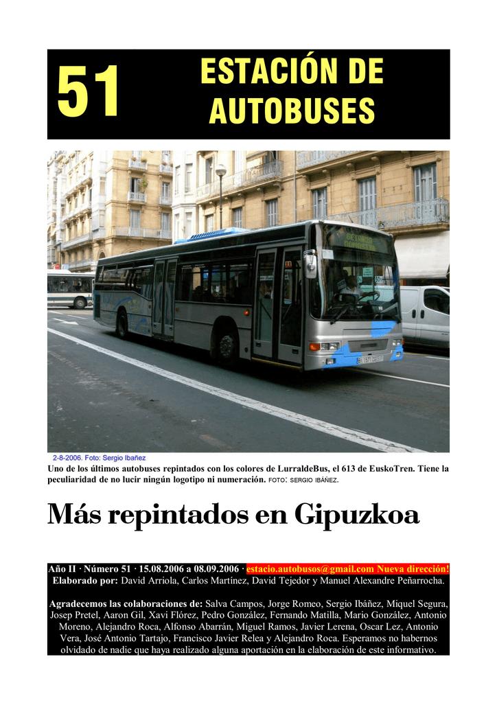 51 estación de autobuses