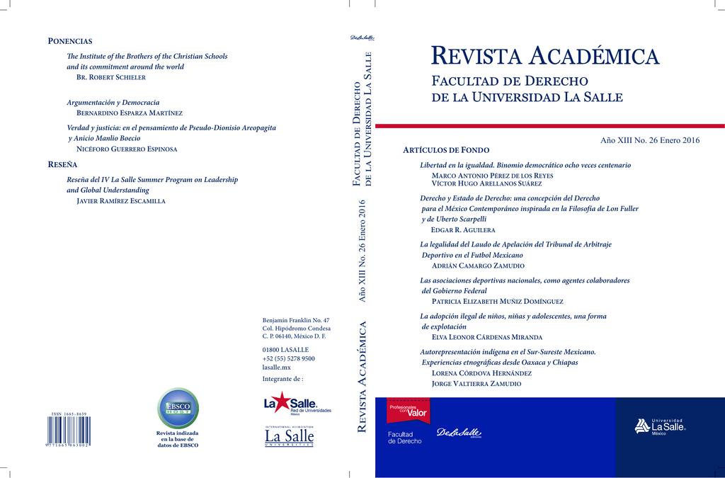 revista académica - Universidad La Salle