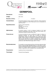 germipool - Quimsa ITW