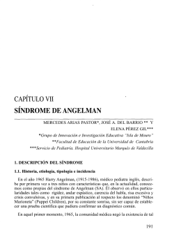 Síndrome de Angelman.