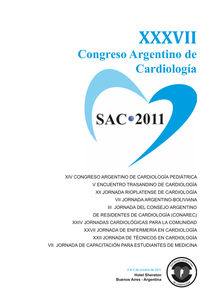 programa científico congreso sac 2011