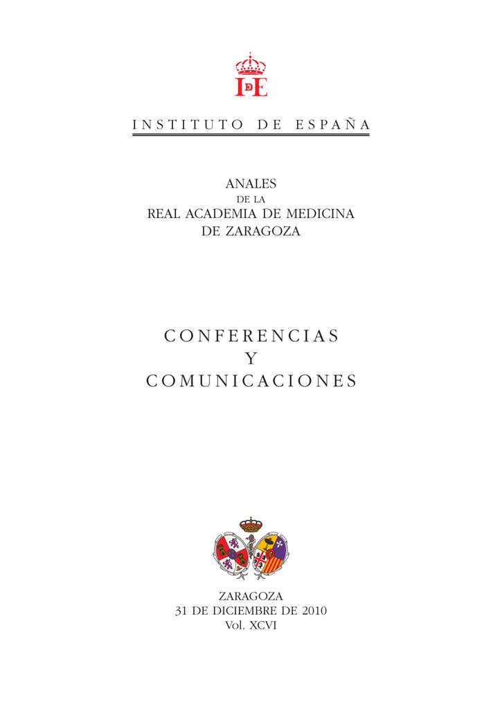 89b002570a2c4 conferencias y comunicaciones - Real Academia de Medicina de