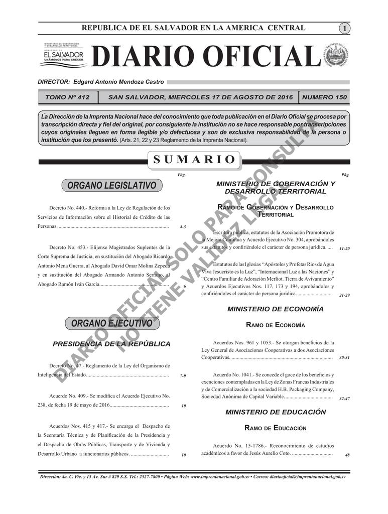 cfaa9ae1a Diario Oficial 17 de Agosto 2016.indd