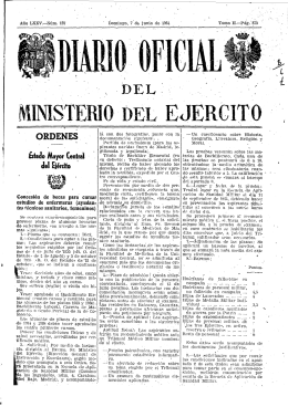 M INI STEm O DEL EJERCITO - Biblioteca Virtual de Defensa